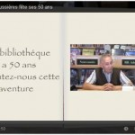 video 50 ANS bibliotheque